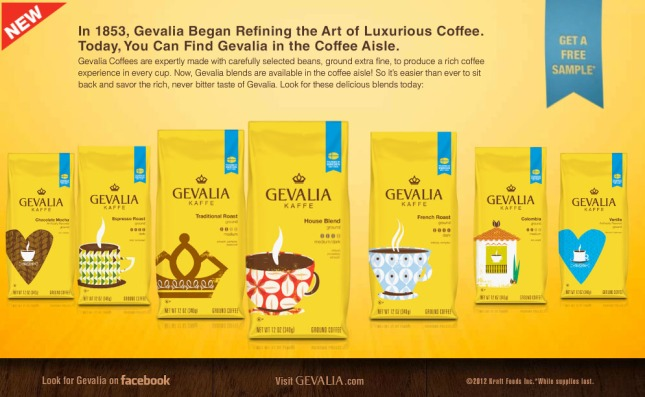 FREE Gevalia Coffee From Walmart